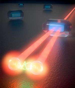 Ultrafast stimulated emission microscopy of single nanocrystals