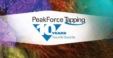 Celebrating a Decade of PeakForce Tapping AFM