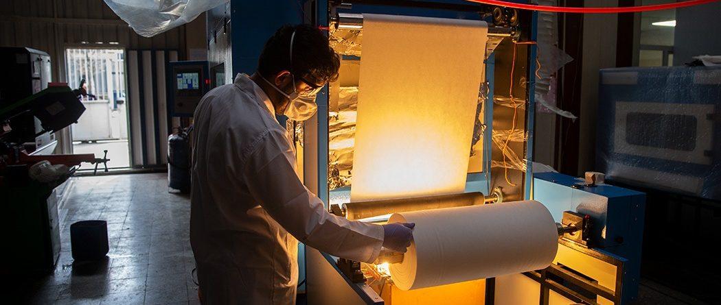 Iranian Company Develops Nanofiber Masks
